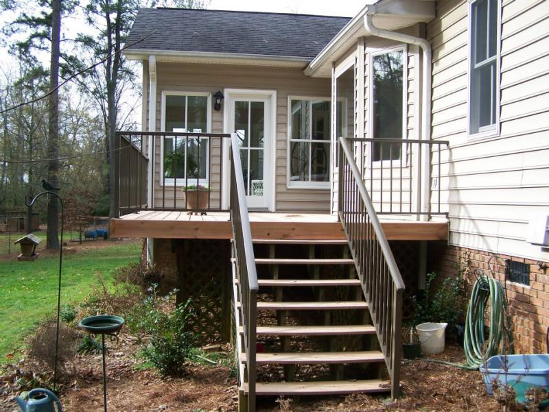 Wrought Iron Or ALUMINUM RAILING